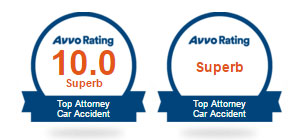 Roselli McNelis personal injury lawfirm Avvo Rating